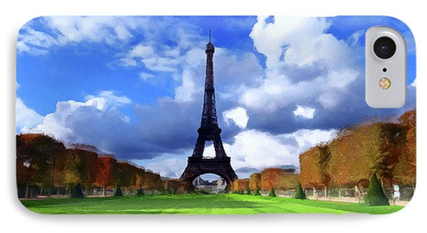 The Tower Paris IPhone Case by David Dehner