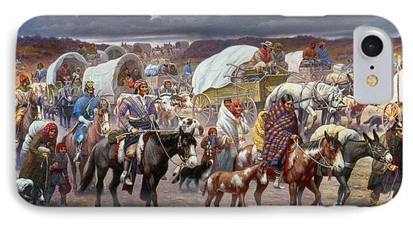 The Trail Of Tears IPhone Case by Granger