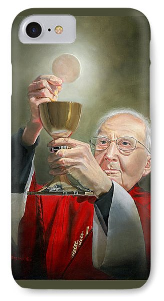 The Transubstantiation IPhone Case by Cecilia Brendel