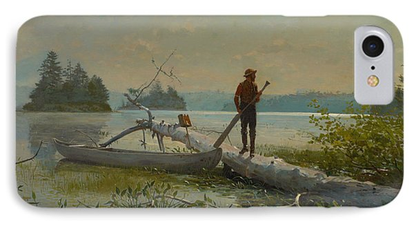 The Trapper IPhone Case by Winslow Homer