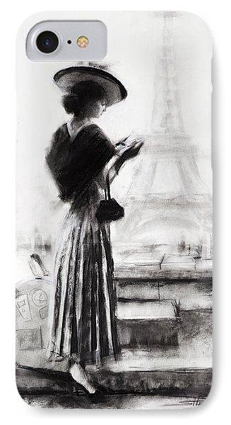 Eiffel Tower iPhone 7 Case - The Traveler by Steve Henderson
