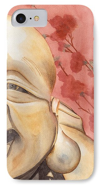 The Travelling Buddha Statue IPhone Case