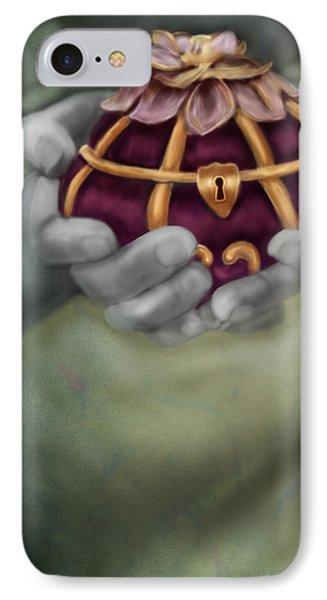 The Treasure Box  IPhone Case by Maggie Terlecki