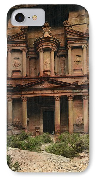 The Treasury Petra IPhone Case by Celestial Images
