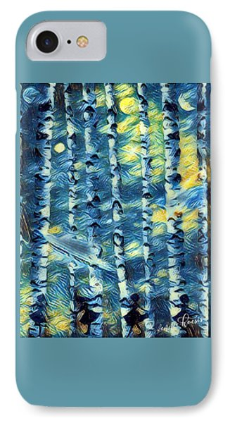 The Tree Children IPhone Case by Vennie Kocsis