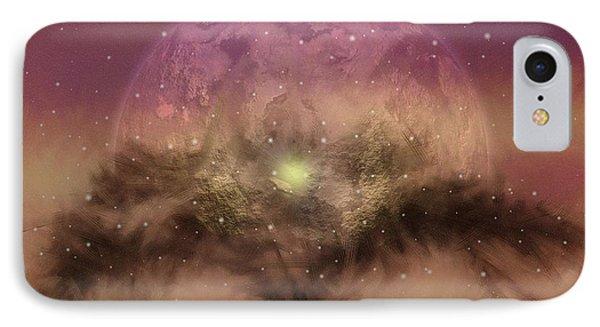 The Tree Of Illumination IPhone Case by Mario Carini