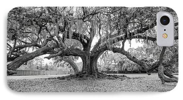The Tree Of Life Monochrome IPhone Case
