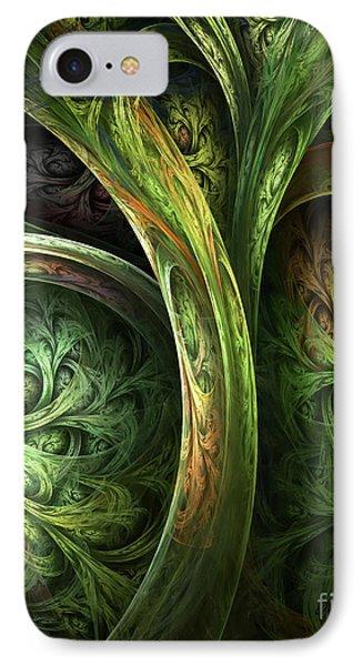 The Tree Of Life IPhone Case by Olga Hamilton