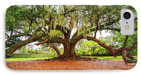 The Tree Of Life - Paint IPhone Case by Steve Harrington