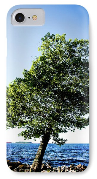 IPhone Case featuring the photograph The Tree by Onyonet  Photo Studios