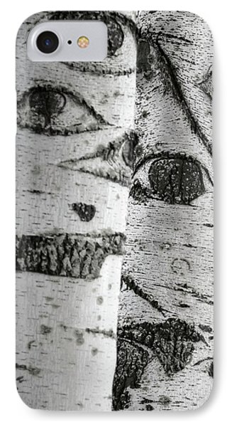 The Trees Have Eyes IPhone Case by Wim Lanclus