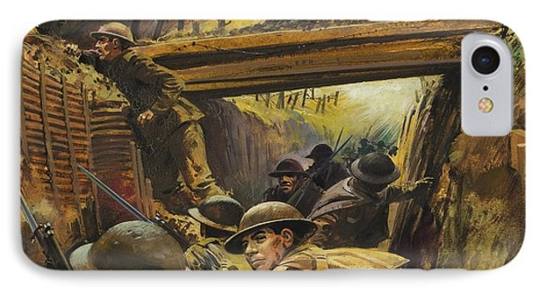 The Trenches IPhone Case by Andrew Howat