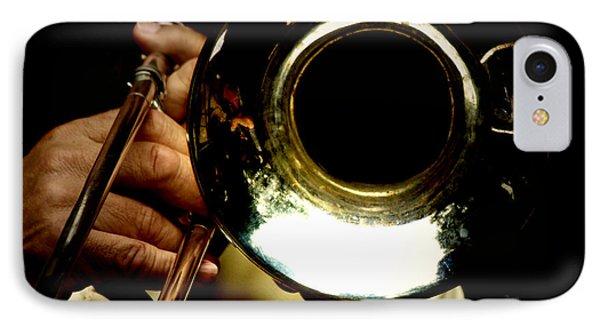 The Trombone   Phone Case by Steven Digman