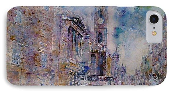 The Tron High Street  Edinburgh  IPhone Case