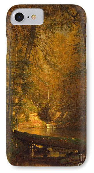 IPhone Case featuring the photograph The Trout Pool by John Stephens