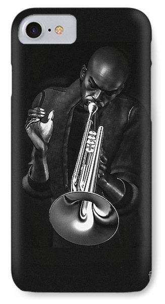 The Trumpet Player IPhone Case