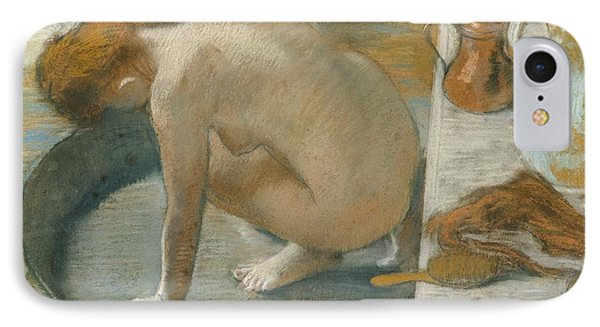The Tub IPhone Case by Edgar Degas
