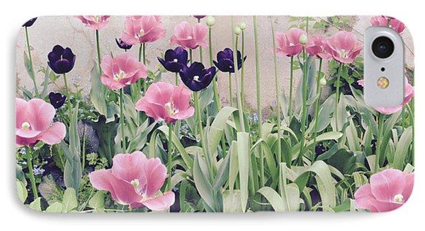 The Tulip Garden IPhone Case by Jeannie Rhode
