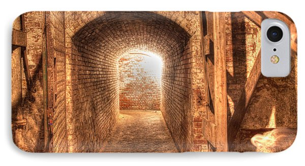 IPhone Case featuring the photograph The Tunnel by David Bishop