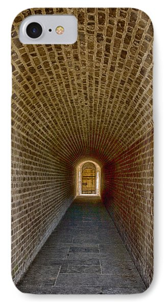 IPhone Case featuring the photograph The Tunnels Of Fort Clinch by Paula Porterfield-Izzo