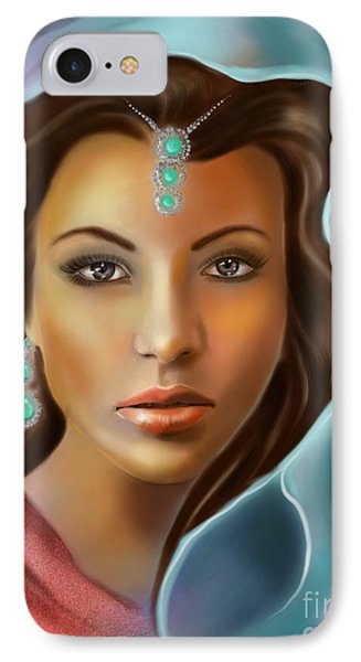 The Turquoise Rania... IPhone Case