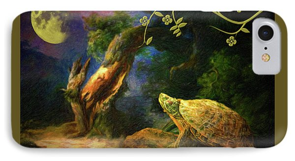 The Turtle Of The Moon IPhone Case
