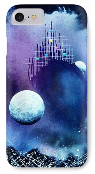 The Twin Moons Phone Case by Lee Pantas