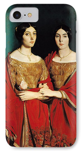 The Two Sisters IPhone Case by Theodore Chasseriau