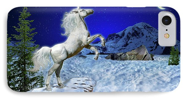 The Ultimate Return Of Unicorn  IPhone Case by William Lee