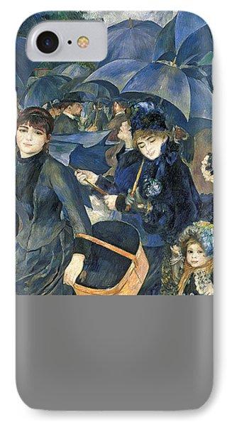 The Umbrellas Phone Case by Pierre Auguste Renoir