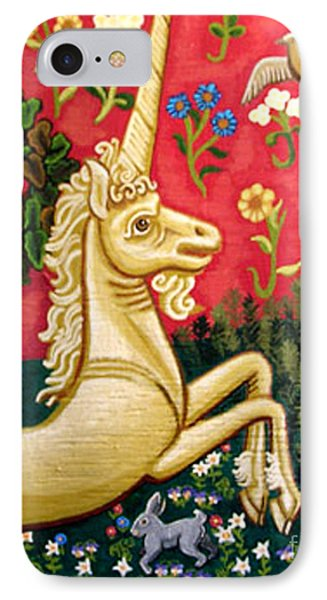 The Unicorn Phone Case by Genevieve Esson