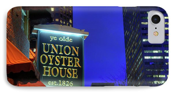 IPhone Case featuring the photograph The Union Oyster House - Boston by Joann Vitali