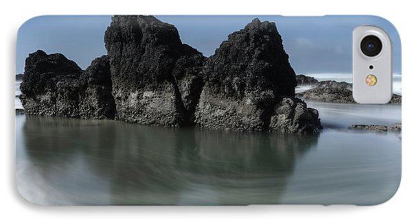 The Unique Rock On The Beach IPhone Case by Masako Metz