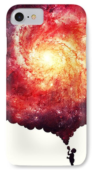 The Universe In A Soap Bubble IPhone Case