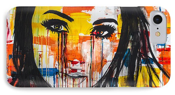 The Unseen Emotions Of Her Innocence IPhone Case by Bruce Stanfield