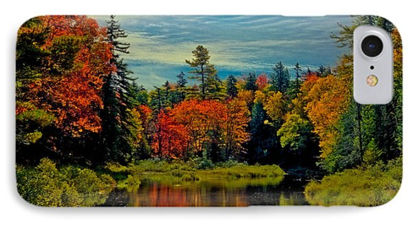 The Upper Branch Of The Moose River IPhone Case by David Patterson