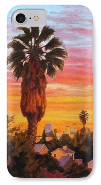 IPhone Case featuring the painting The Urban Jungle by Andrew Danielsen