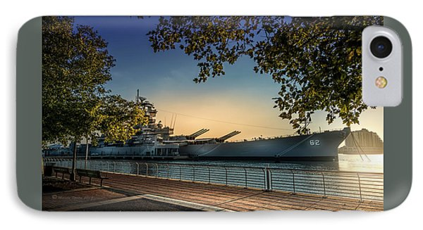The Uss New Jersey IPhone Case by Marvin Spates
