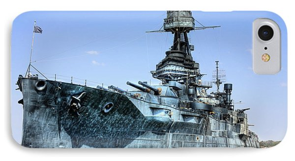 The U.s.s. Texas IPhone Case by JC Findley
