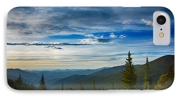 The Valley Of Mount Evans IPhone Case by Angelina Vick