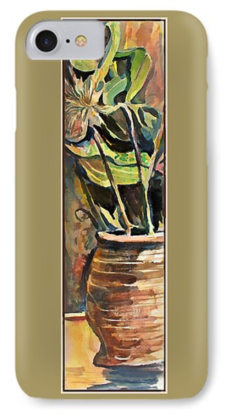 The Vase In The Corner IPhone Case by Mindy Newman