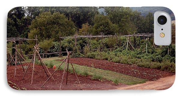 The Vegetable Garden At Monticello II Phone Case by LeeAnn McLaneGoetz McLaneGoetzStudioLLCcom