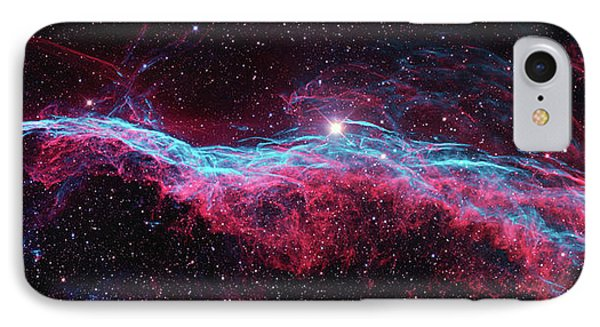 IPhone Case featuring the photograph The Veil Nebula by Nasa