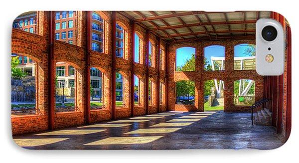 The Venue Old Mill Wedding Venue Reedy River South Caroline Art IPhone Case by Reid Callaway