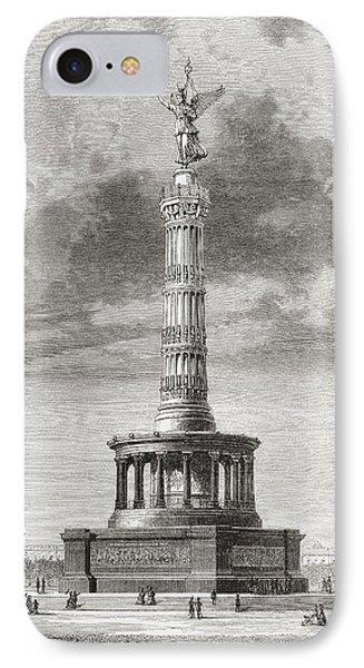 The Victory Column In The Tiergarten IPhone Case