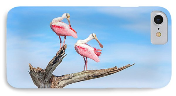 The View From Above IPhone 7 Case by Mark Andrew Thomas