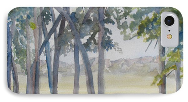 The View From Fort Robinson IPhone Case by Jenny Armitage