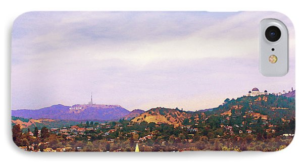 The View From Olive Hill IPhone Case by Timothy Bulone