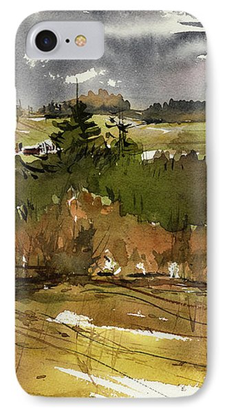 The View On Burlingame Road IPhone Case by Judith Levins