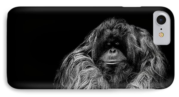 Ape iPhone 7 Case - The Vigilante by Paul Neville